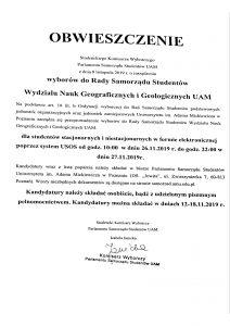 Wydział Nauk Geograficznych i Geolgicznych